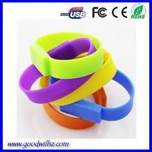 2015 promotion gift OEM bracelets usb pendrive