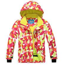 2015 Phibee children's ski & snow wear jacket for Girls
