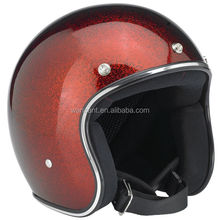 high quality half 3/4 face helmets safety with bubble visor top sale