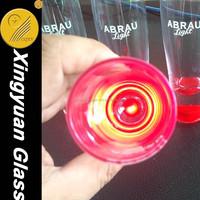 new LED champagne glass 2015