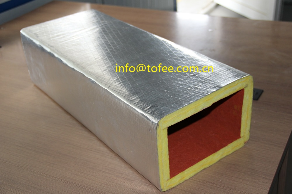 Hvac Duct Insulation : Fiberglass duct board buy glass wool ducting pre