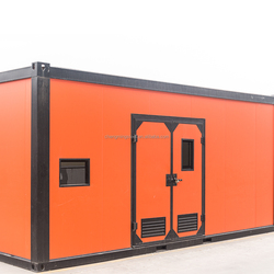Customized Design Popular Ecofriendly China Low Cost Sandwich Panel Movable Flatpack Office Container