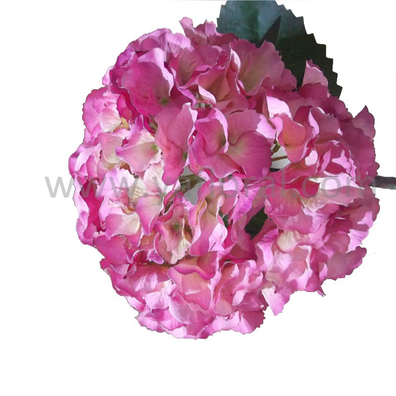 Easily Decorate With Hydrangea Silk Flower Centerpiece At Petals