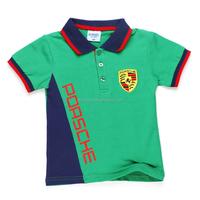 DBTX008 100% Cotton Short Sleeve T-shirt High Quality Polo T Shirt Custom Dry Fit Polo Shirt for Boy