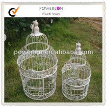 round decorative vintage metal bird cages