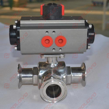 made in china food grade sanitary valve stainless steel ball valve