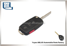 2015 high quality auto transponder key for vw cars( 3+1 button )