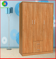 10 years experience manufacturer wholesale cheap indian bedroom cabinet laminate wardrobe designs