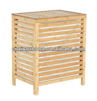 New Style Home Essentials Bamboo Laundry Hamper