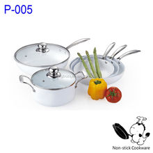 Pressed aluminum electric ceramic nonstick fry pan suitable for induction cooker