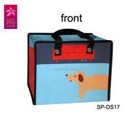 Italian Design Fashion PP non-woven cute cantoon shopping bag
