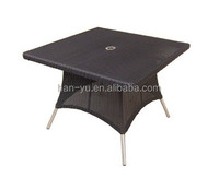 outdoor furniture garden portable pool table rattan dining table