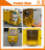 high quality battery operated motorized passenger e rickshaw with open body