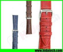 100% Genuine Real Leather Crocodile Watch Strap for Apple Watch