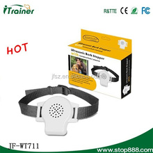 JF-WT711 Ultrasonic guardian bark control collar for dog training