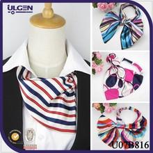 Magical silk air hostess scarf cheap satin scarf for airline stewardess
