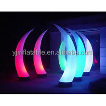 Latest inflatable pillars indian wedding decorations for sale