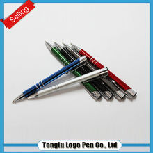 Personalized logo items classical metal ball pens with printing