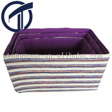 paper storage baskets/ bins in set of 3pcs