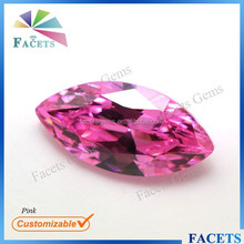 FACETS GEMS Wholesale Large Stock Pink Marquise Synthetic Zircon