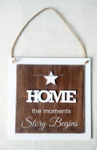 wooden decoration letters bord