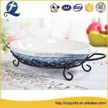 High melting point no leakage quality ceramic round baking