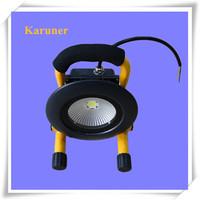 Hot Sale Black 10W Portable Round LED Home Warning Emergency Light