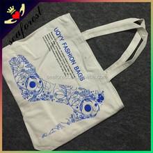 Fashion Printed cotton bag/promotional bag/custom printed canvas tote bag