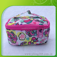Good Quality Neoprene Zipper Cosmetic Bag With Mirror