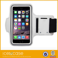 Top Quality Waterproof PU Leather Armband Phone Case for Apple iPhone 6 4.7 inch Belt Wrist Strap GYM Arm Band Bag iPhone6