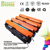Printer High Yield Color Toner Cartridge FOR USE IN HP CP5525/5525N/5525dn/5525sh (PTCE270A)