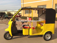 powerful gasoline local motor tricycle three wheel motorcyclethree wheeler with cabin and cargo box cover