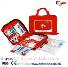 hot selling first aid kit ,mini first aid kit for home /outdoor /tranning/travel