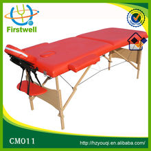 Luxurious Design spa Massage Table with High Quality wood material
