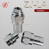 ZJ-LA thread locked hydraulic quick coupling for agricultural tractor