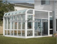 garden glass pvc sun room