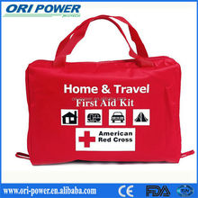OP manufacture ISO CE FDA approved compact waterproof travel motorcycle car first aid kit