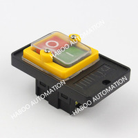 KAO-5 ON/OFF waterproof push button switch for machine NO/OFF start stop switch 10A 220V/380V