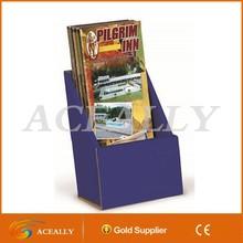 Colorful Carboard Flyer Display Pocket