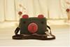 Girls Bear print trendy purse bag flexible canvas coin bag