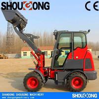 SHOUGONG SG10F 1000KG Chinese Cheap Small Mini Compact Wheel Loader