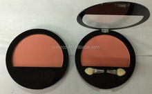 popular shine and matte eyeshadow compact and blush with high quality