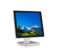 Top quality 19 inch cheap touch screen computer All in one PC with I3 I5 I7 CPU for Airport Queue Management System