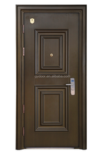 newest entry door design high class security door with 304 hairline stainless steel threshold