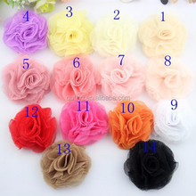 In stock 20 colors Lace flower Baby Hair Accessories Bridal Decoration Hot selling