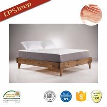 2015 Alibaba gros tissu matelas à retardement, Luxe bien dormir mince matelas, Haute qualité matelas gel de silicone