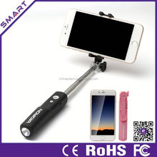 2015 brand new handheld selfie stick wireless monopod with stylus pen