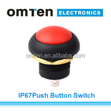 5A 250VDC Momentary Push Button Switch