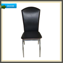 louis xvi round french style wooden upholstered dining chair DC039