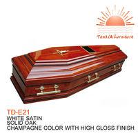 TD-E21 Cross of Christ coffin for sale